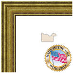 "ART TO FRAMES 4159 Gold Foil on Pine Photo Frame (16 x 16"", Regular Glass)"