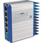 Veracity 4+1-Port CAMSWITCH Mobile Low-Voltage 802.3at PoE Switch