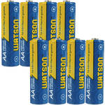 Watson AA NiMH Rechargeable Batteries (2300mAh) - 8-Pack