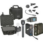 Lectrosonics 100 Series Wireless Microphone Deluxe Kit (Frequency Block 21)