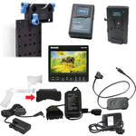 Redrock Micro Monitor, Battery & Mounting Kit for Shoulder-Mount Rigs