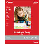 "Canon Photo Paper Glossy (8.5 x 11"", 50 Sheets)"