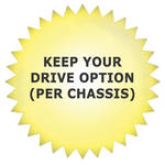 Promise Technology Keep Your Drive Disposal (Per Chassis)