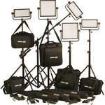 Cool-Lux CL5-3500BSX Bi-Color PRO Studio LED Spot 3-CL500BSX, 2-CL1000BSX Kit with DMX