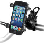RAM MOUNTS EZ-Strap Rail Mount with Universal X-Grip Cell Phone Holder