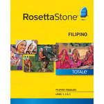 Rosetta Stone Filipino / Tagalog Levels 1-3 (Version 4 / Mac / Download)