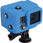 XSORIES Hooded Silicon Skin for GoPro Dive Housing (Blue)