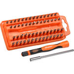 Eclipse Tools 58-Piece Precision Electronic Screwdriver Bit Set