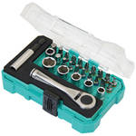 "Eclipse Tools 27-Piece 1/4"" Drive Socket and Screwdriver Set"