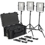 Litepanels 1x1 LS Traveler Trio Plus Kit