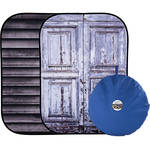 Lastolite Urban Collapsible Background (5 x 7', Metal Shutter/Door Molding)