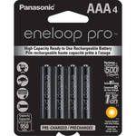 Panasonic Eneloop Pro AAA Rechargeable Ni-MH Batteries (950mAh, Pack of 4)