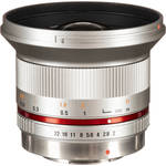 Rokinon 12mm f/2.0 NCS CS Lens for Micro Four Thirds Mount (Silver)