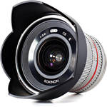 Rokinon 12mm f/2.0 NCS CS Lens for Samsung NX Mount (Silver)