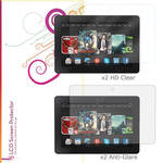 "rooCASE HD Clear and Anti-Glare Screen Protectors for Kindle Fire HDX, 8.9"" (4-Pack)"