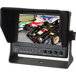 "Delvcam 7"" On-Camera 3G-SDI and HDMI Monitor with Video Waveform"