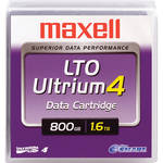 Maxell Ultrium 4 LTO 4 Data Cartridge with NeoSMART Technology (800GB/1.6TB, Teal)