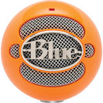 Blue Snowball USB Condenser Microphone with Accessory Pack (Neon Orange)