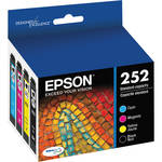 Epson 252 DURABrite Ultra Black & Color Ink Cartridge Combo Pack