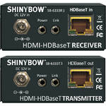 Shinybow SB-6333X3 HDBaseT Transmitter & Receiver Console Kit with 2-Way IR, RS-232, HDMI