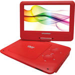 "Sylvania SDVD9020B 9"" Portable DVD Player (Red)"