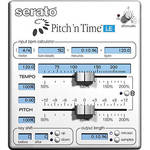 Serato Pitch 'n Time LE 3.0 - Time Stretching and Pitch Shifting Plug-In Upgrade (Download)