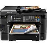 Epson WorkForce WF-3640 Wireless Color All-in-One Inkjet Printer