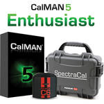 SpectraCal CalMAN Enthusiast Bundle with C6 Colorimeter