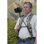 Field Optics Research BinoPOD Harness System with PhotoPOD Adapter (Camo)