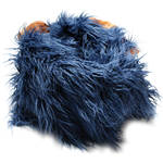 "Custom Photo Props Faux Flokati Fur Newborn Photo Prop (Apollo Blue, 20 x 32"")"