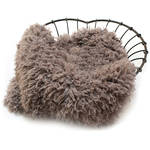 "Custom Photo Props Faux Fur Newborn Photo Prop (Limestone, 62 x 72"")"