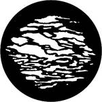 Rosco Steel Gobo #7168 - Cloud 10 - Size E