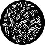 Rosco Steel Gobo #7126 - Jungle Leaves - Size B