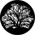 Rosco Steel Gobo #7320 - Tree 3 - Size B