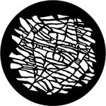 Rosco Steel Gobo #7543 - Crazed - Size E