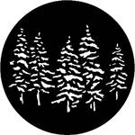 Rosco Steel Gobo #7551 - Pines - Size E