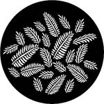 Rosco Steel Gobo #7593 - Ferns - Size A