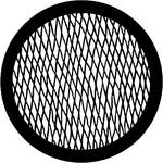 Rosco Steel Gobo #7623 - Wire - Size E