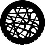 Rosco Steel Gobo #7747 - Tangle - Size B