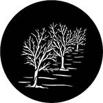Rosco Steel Gobo #7744 - Three Trees - Size B
