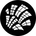 Rosco Steel Gobo #7792 - Runyon Windows - Size B