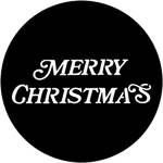 Rosco Steel Gobo #7939 - Merry Christmas