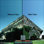 "LEE Filters 3x3"" 82 Color Conversion Polyester Filter"
