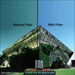 "LEE Filters 3x3"" 82C Color Conversion Polyester Filter"