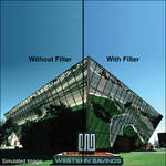 "LEE Filters 4x4"" 82A Color Conversion Resin Filter"