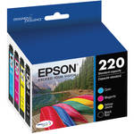 Epson T220 DURABrite Ultra Black & Color Ink Cartridge Multi-Pack