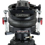 Cartoni AIRFLOATER Tripod Head with Mitchell Standard Base and Pump