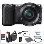 Sony Alpha NEX-5T Mirrorless Digital Camera with 16-50mm Lens Deluxe Accessory Kit