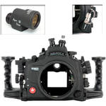 Aquatica AD800 Underwater Housing for Nikon D800 or D800E with Aqua VF and Vacuum Check System (Fiber-Optic and Nikonos Strobe Connectors)