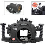 Aquatica AD7100/200 Underwater Housing for Nikon D7100 or D7200 with Aqua VF and Vacuum Check System (Dual Optical Strobe Connectors)